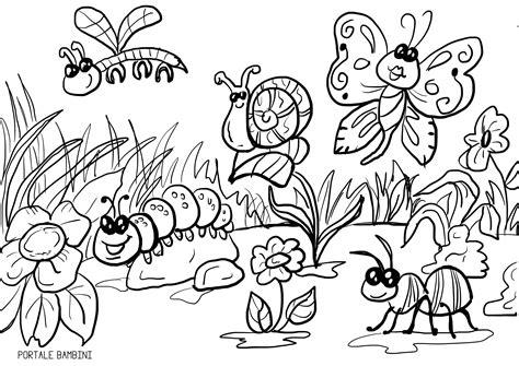 disegni  primavera da colorare portale bambini