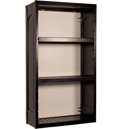 wall mounted storage shelves woodcrest in ventilated