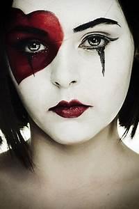 Karneval Gesicht Schminken : best 25 horror makeup ideas on pinterest scary clown halloween costume gesicht schminken ~ Frokenaadalensverden.com Haus und Dekorationen