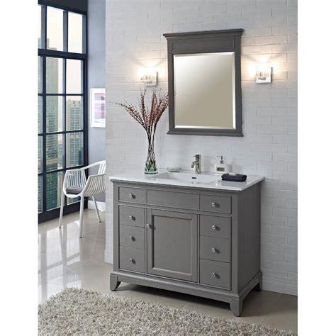 fairmont designs   smithfield vanity medium gray
