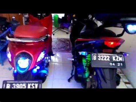 Aerok Modifikasi by Modifikasi Led Fino Sporty Dan Aerok 125