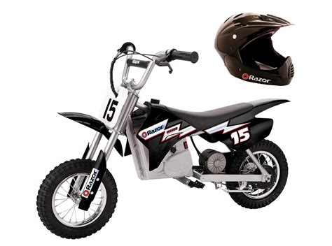 Razor Mx350 Dirt Rocket Electric Black Moto Bike With