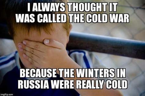Cold War Memes - the cold war timeline timetoast timelines