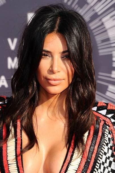 kim kardashian  hair short hairstyle glamour uk
