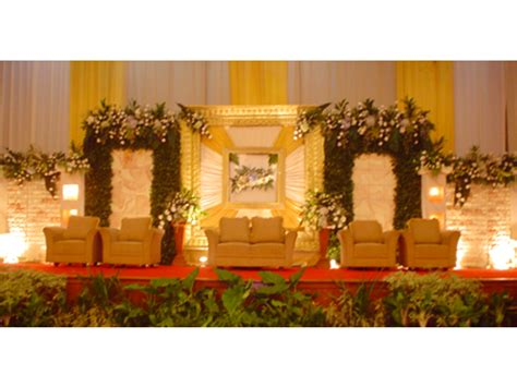 olivia wedding decoration pelaminan model internasional