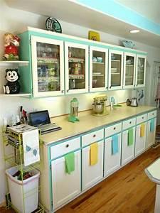 idees pour la deco cuisine retro With deco retro cuisine