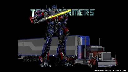 Prime Transformers Optimus Wallpapers Shaunsarthouse Background