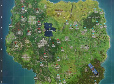 fortnite summit mountain peak locations vg