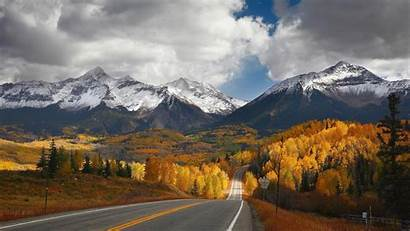 Canada Nature Fall Mountain Desktop Wallpapers Background