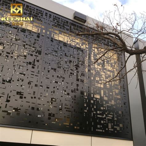 decorative metal outdoor screens manufacturers  suppliers china factory price keenhai