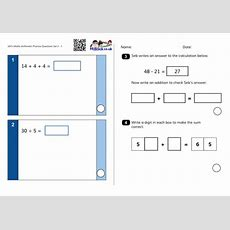 Practise Ks1 Sats Questions Maths Arithmetic And Reasoning (similar To The 2016 Sample Papers
