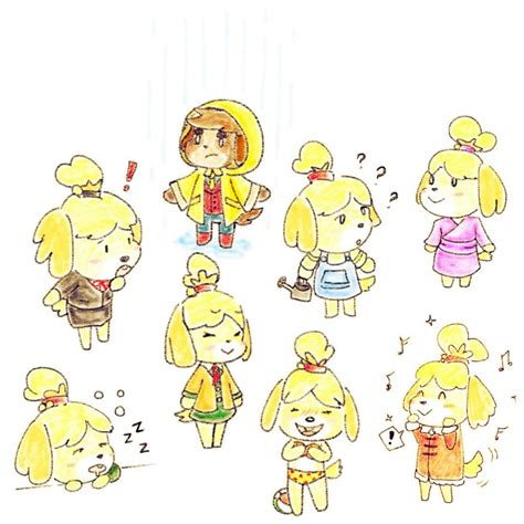 acnl isabelle digby animal crossing animal crossing