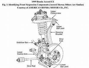 1999 Honda Front Suspension Diagram