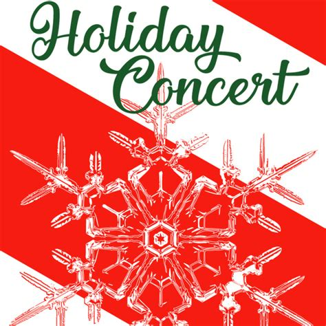 holiday concert poster web conval regional high school