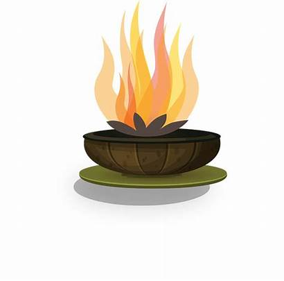 Flame Fire Candle Flames Clipart Yellow Warmth