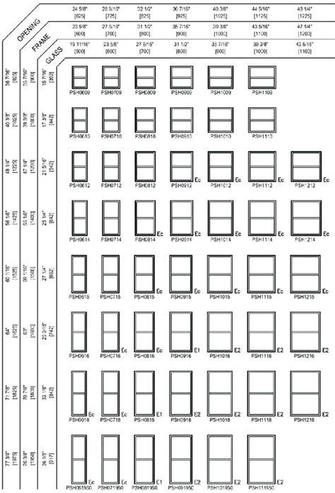 standard window widths emilytoccocom