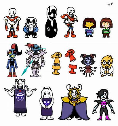 Undertale Character Compilation Chara Angry Asriel Fan