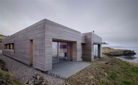 Wood Panelling, Contemporary Home On The Isle Of Skye