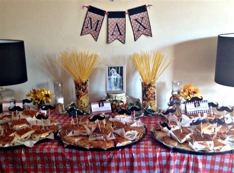 maxs italian themed birthday party