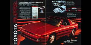 1986  The Toyota Supra Dynasty Begins