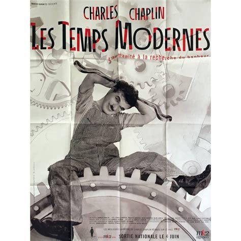 Affiche De Les Temps Modernes