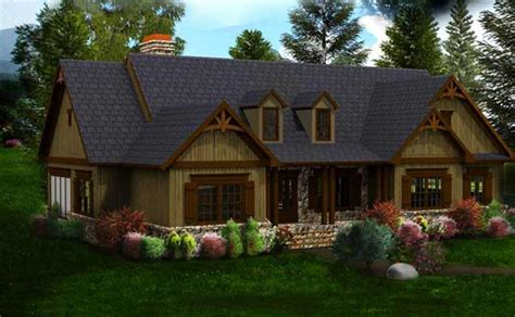 Craftsman House Plans One Story by Craftsman House Plans One Story Cottage House Plans