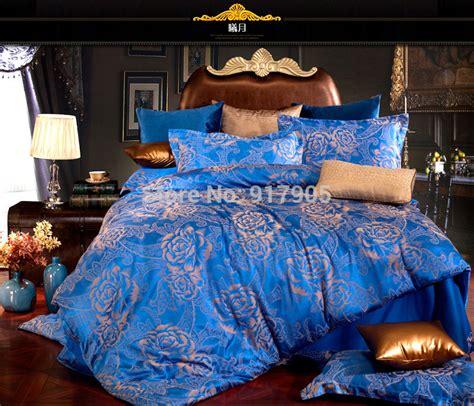 luxury discount european style satin jacquard bedding sets