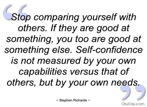 Quotes Comparing Yourself Others