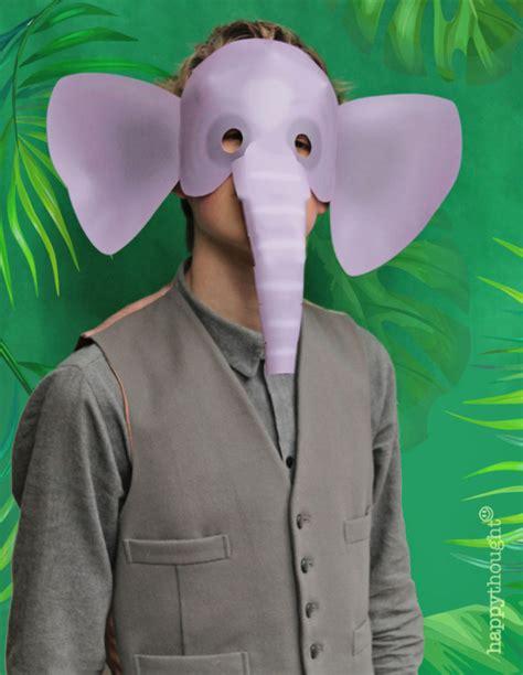 printable wild animal masks  easy   mask