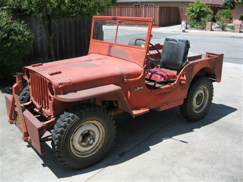 military jeep willys for sale 1945 willys mb wwii military jeep for sale