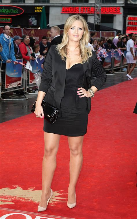 hayley mcqueen  chariots  fire premiere  london
