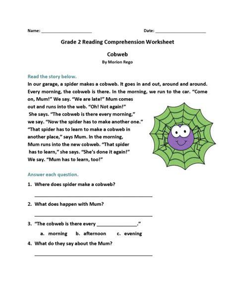 grade reading worksheets  images reading