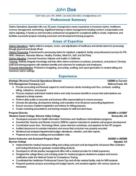 Financial Operations Manager Resume by Professional Financial Operations Director Templates To
