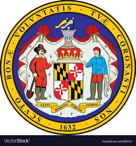 Don't forgetto check out our free svg gallery for tons of free svgs! Maryland Seal Royalty Free Vector Image - VectorStock
