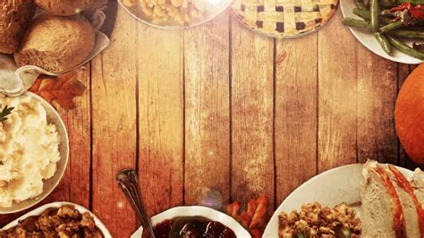 wood dinner table thanksgiving table background church media resource