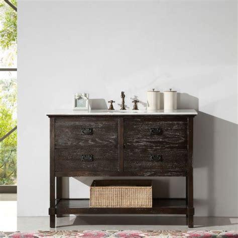 48 inch white bathroom vanities 33 stunning rustic bathroom vanity ideas remodeling expense