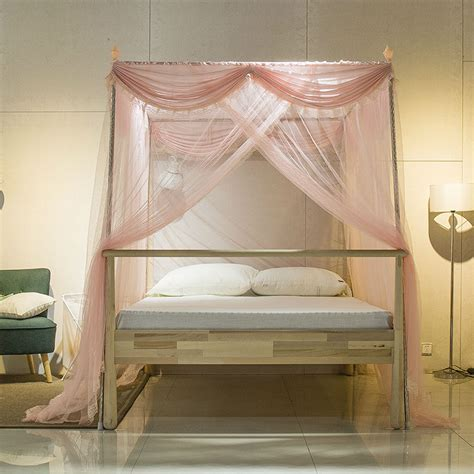 2017 Stainless Steel Mosquito Net For Double Bed Three