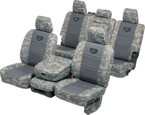 Cabela's Tactical Seat Cover With Pockets By Ruff Tuff