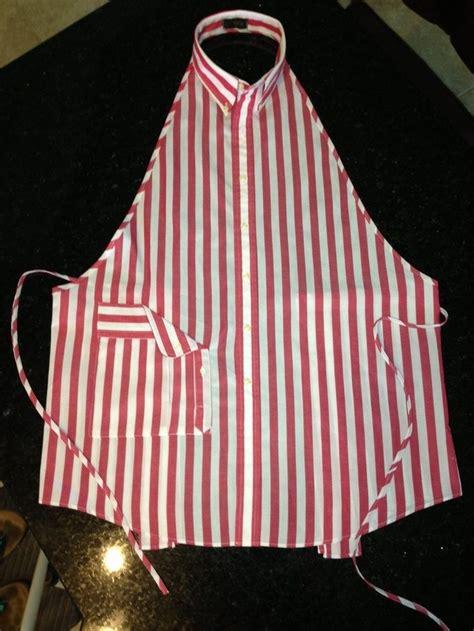 diy mens shirt apron craft projects   fan