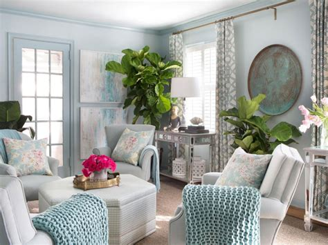 Ideas For Decorating The Living Room With Plants