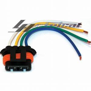 Alternator Repair Plug Pigtail Harness Connector 4 Wire