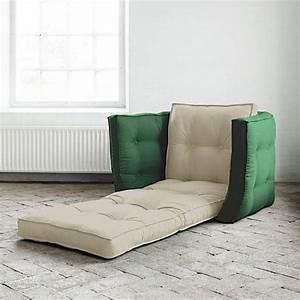 Fauteuil Convertible Une Place : lofty fauteuil futon convertible en lit nordic design ~ Teatrodelosmanantiales.com Idées de Décoration