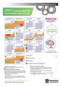 QLD School Holidays 2017 Calendar