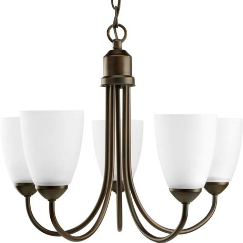 Chandeliers Lighting Collections by Progress Lighting Gather Collection Antique Bronze 5 Light