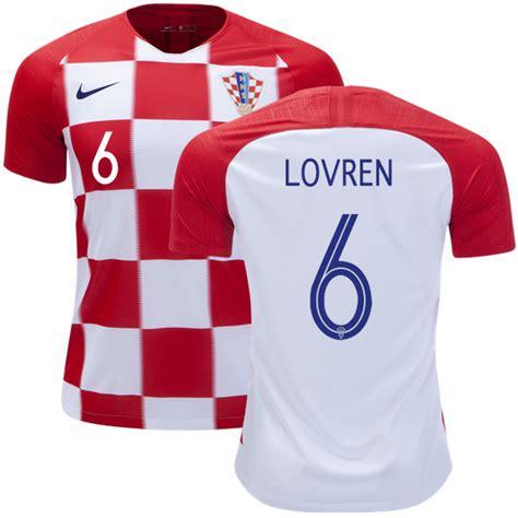 Dejan Lovren Croatia Soccer Jersey