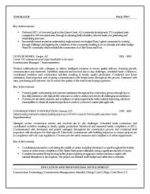 resume template entry level sales representative construction management resume exles assistant project manager additional and technical