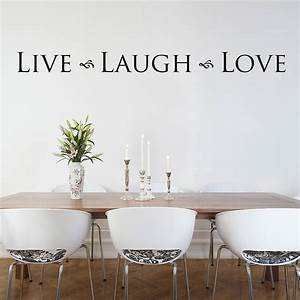 39live laugh love39 wall sticker by nutmeg With live laugh love wall decor