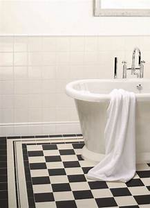 15 best victorian floor tiles classic check patterns for Black and white checkered tile bathroom