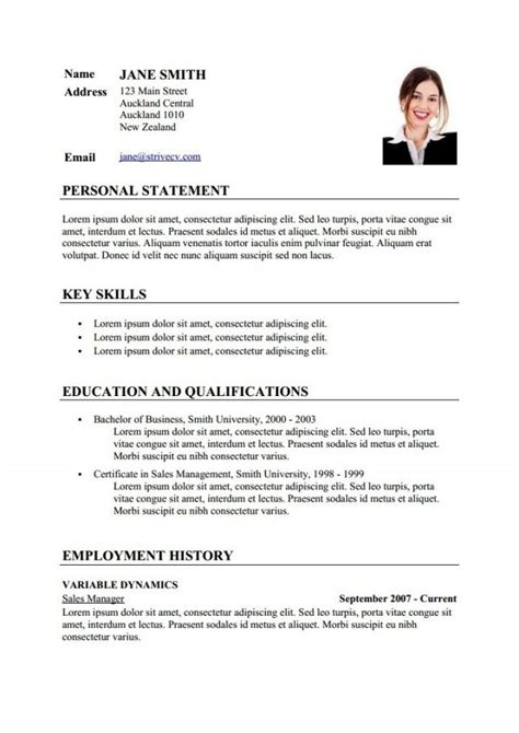 How To Make A Cv by How To Make Teaching Cv Exemple Cv Etudiant
