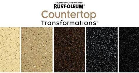 rust oleum countertop transformation kit choose from a